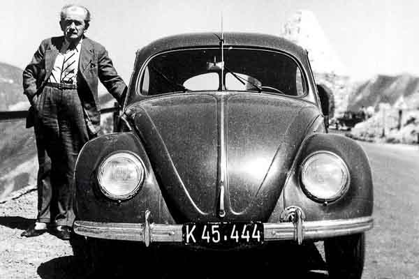 Ferdinand Porsche and the Beetle
