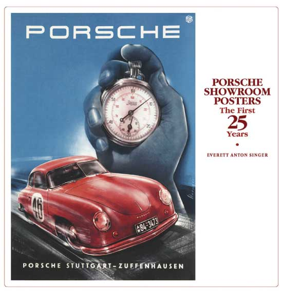 Porsche Showroom Posters ~ THE FIRST 25 YEARS Book Cover