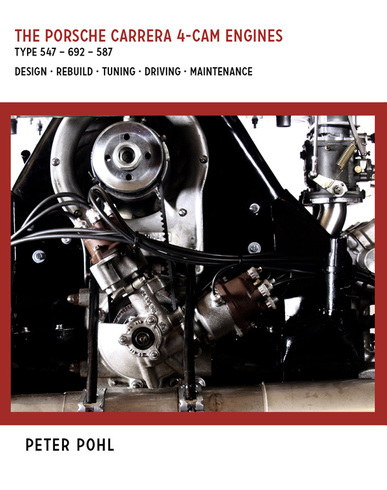 Porsche Carrera 4-cam engines Book Cover