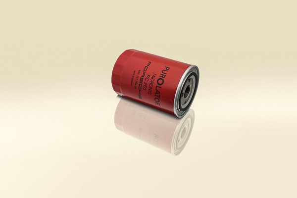 Porsche original Red Oil filter