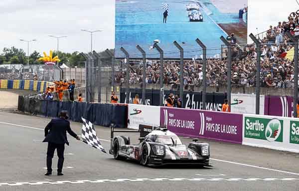 18th overall win for Porsche after drama in Le Mans
