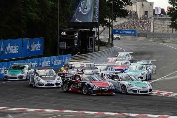 Porsche Carrera Cup Deutschland at the Norisring