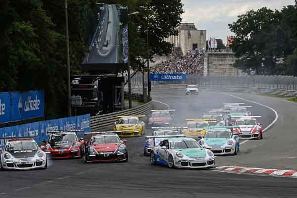 The start of Porsche Carrera Cup Deutschland
