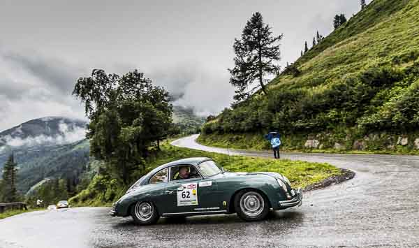 Achim Stejskal and Dirk Johae in a 356 1600 S