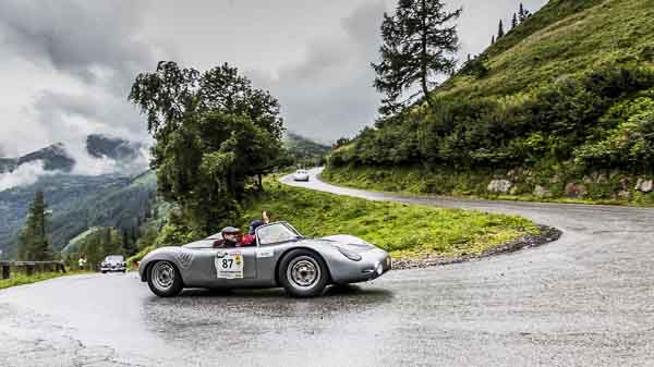 Porsche Museum at Ennstal Classic with eleven rare sportscars