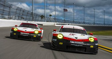 Race Debut of the new Porsche 911 RSR at the Rolex24 Daytona
