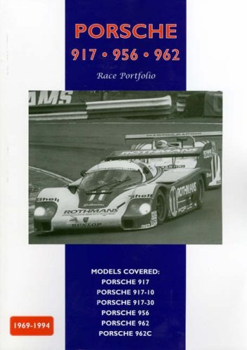 Porsche 917 - 956 - 962 Race Portfolio Book Cover