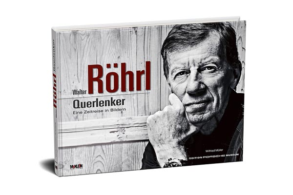 "The new illustrated book ""Walter Röhrl - Querlenker"" looks back on Röhrl`s career. Publisher: McKlein Publishing in cooperation with ""Edition Porsche Museum""."