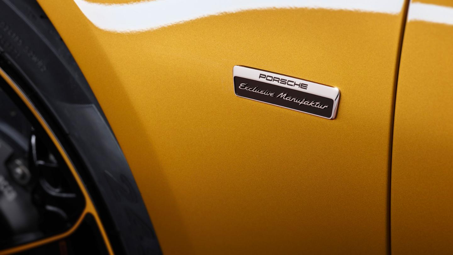 the new 911 Turbo S Exclusive Series