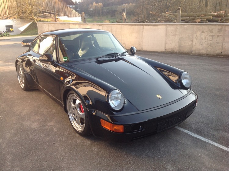 1992 Porsche 911 Turbo S Lightweight - Coys Auctions -Classic Days Schloss Dyck
