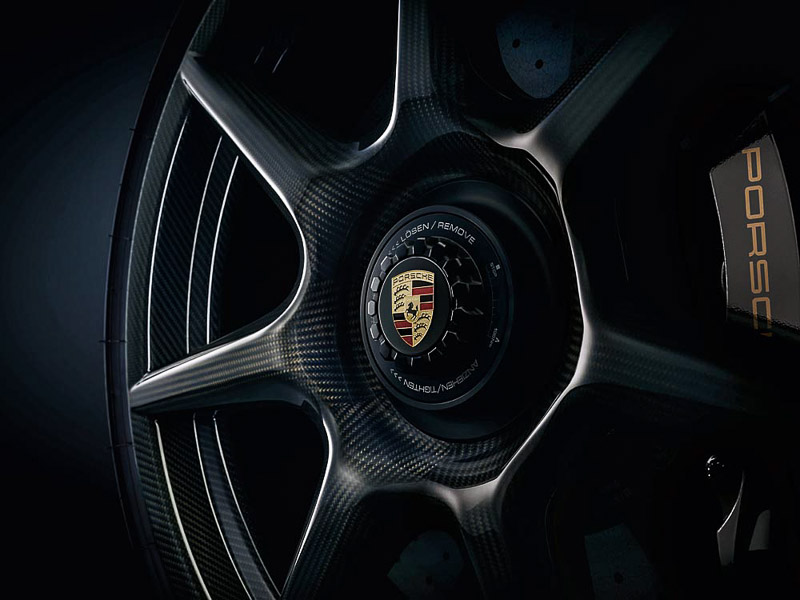 Porsche 20-inch 911 Turbo Carbon Wheel for the 911 Turbo S Exclusive Series