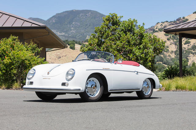 Porsche 356A Speedster Quail Lodge Auction Monterey Car Week 2017