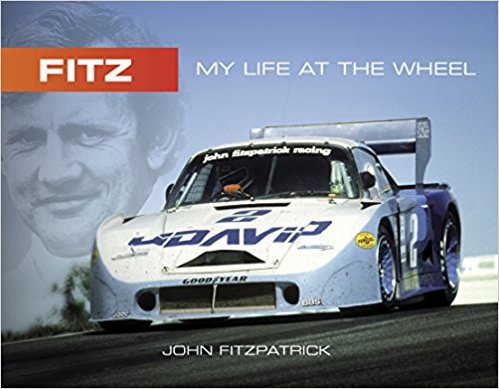 Fitz - My life at the wheel (John Fitzpatrick) Book Cover
