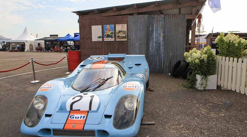 1971 Spa 1000KM winning Porsche 917-015 ( Pedro Rodriguez / Jackie Oliver ) at the Zandvoort Historic GP : what a brutal sound