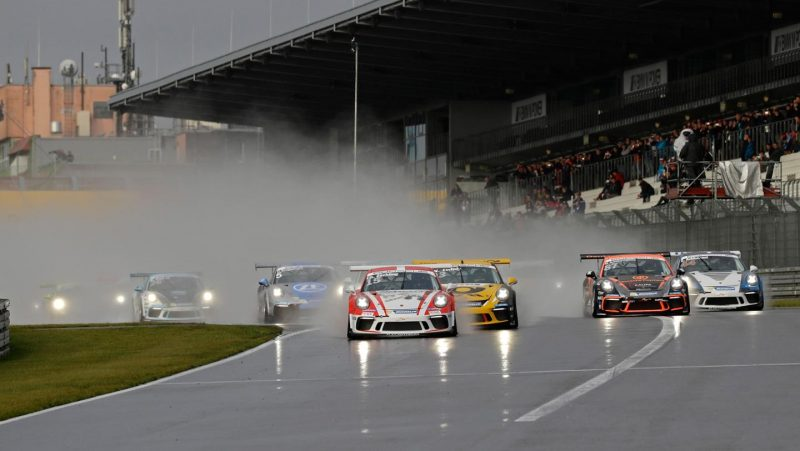 Nick Yelloly wins rain race on the Nürburgring