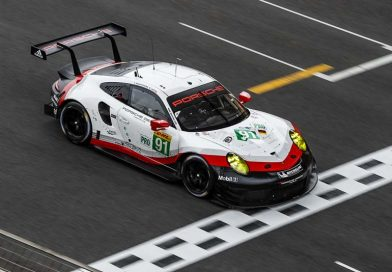 Eighth podium for the Porsche 911 RSR