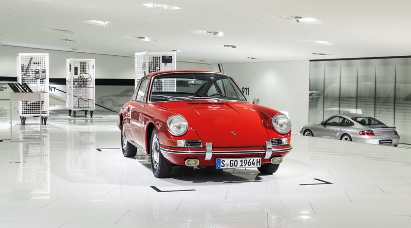 Porsche 911 (901-057) shown for the first time in the Porsche Mu