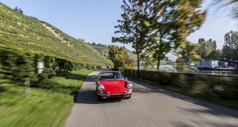 The first test drive of Porsche 911 (901 No. 57)