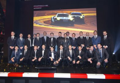 The Porsche works drivers for the 2018 motorsport season