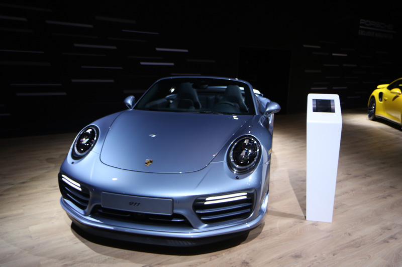 Porsche at the European Motorshow Brussels