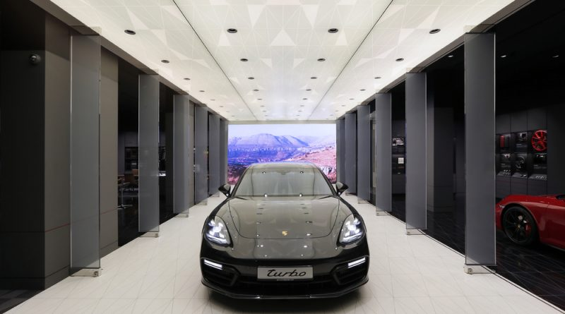 Porsche is strengthening its presence in the Middle East by opening the world's third Porsche Studio in Beirut