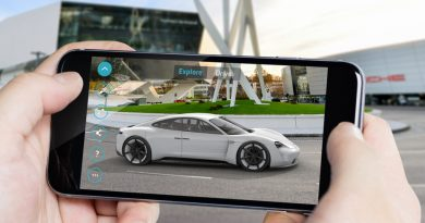 "Porsche presents the ""Mission E Augmented Reality"" app"