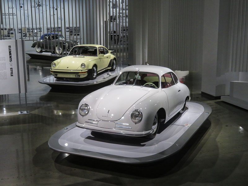 Porsche 356 Gmund and 1976 Porsche 911 Carrera Turbo Porsche Effect Petersen Automotive