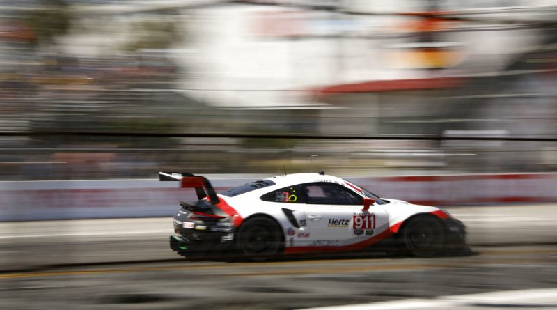 IMSA Weathertech Long Beach Porsche 911 RSR (911) Porsche GT Team Patrick Pilet Nick Tandy