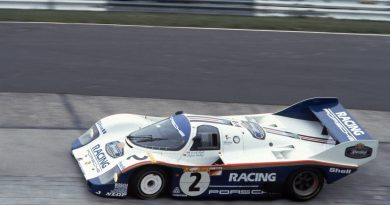 Stefan Bellof Porsche 956-007 at 1983 Nürburgring 1000Km