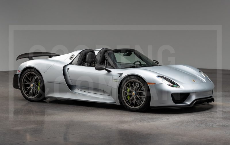 2015 Porsche 918 Spyder - Gooding & Co - Pebble Beach