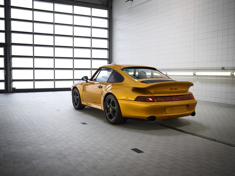 Project Gold - 911 Turbo Classic Series The collector's item
