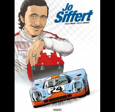 Jo Siffert Comic Novel Paquet Janvier Marin