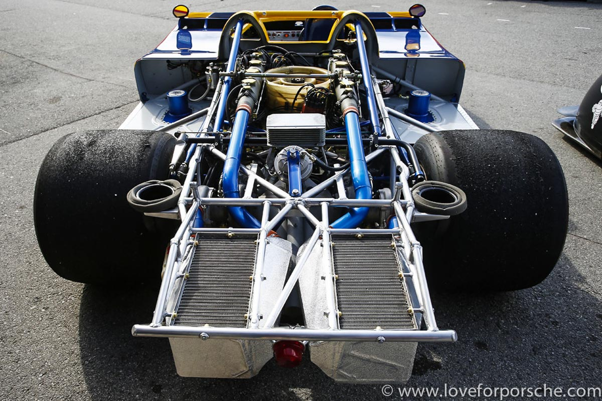 Porsche 917/30 (5.4-litre V12 turbo engine)