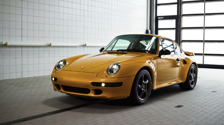 2018 Porsche 911 Turbo Classic Series Project Gold