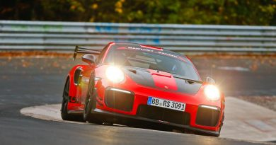 Onboard video of the record lap of the Porsche 911 GT2 RS MR at the Nürburgring