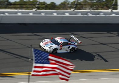Pole position for Porsche at the 24 Hours of Daytona