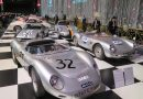 Exhibition 70 years Porsche in Autoworld Museum in Brussels