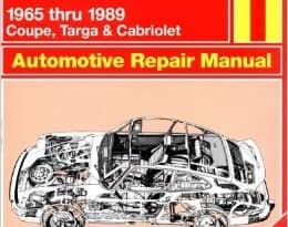 Porsche 911 Repair Manual Haynes