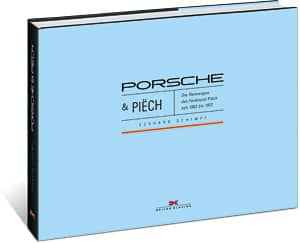 Porsche & Piech Book Cover