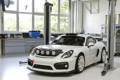 Rallying concept study Porsche Cayman GT4 Clubsport for the FIA R-GT category
