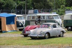 Le Mans Classic 2018 -Porsche 356 at the camping