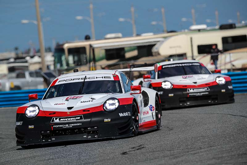 porsche takes on the sports car classic in florida as the