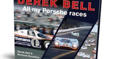 Derek Bell : all my Porsche races by Derek Bell and Richard Heseltine