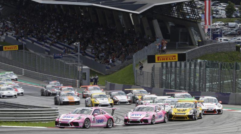 Porsche 911 GT3 Cup, start, Porsche Carrera Cup Deutschland, Spielberg 2018