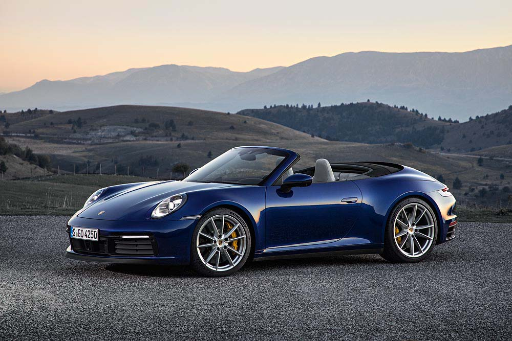 New Porsche 911 >> All Set For Open Top Season The New Porsche 911 Cabriolet