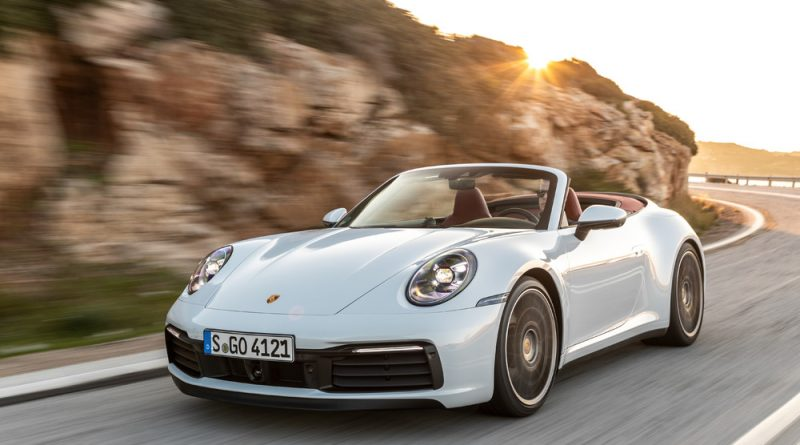 High-tech soft top for the new Porsche 911 Carrera Cabriolet.