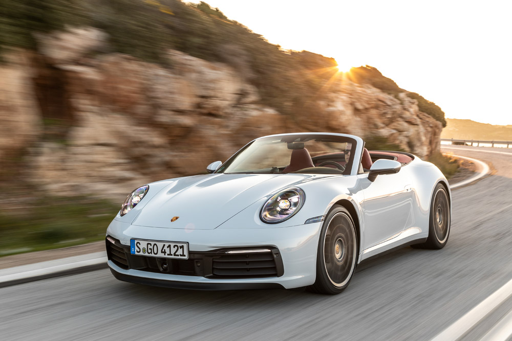 High Tech Soft Top For The New Porsche 911 Carrera Cabriolet
