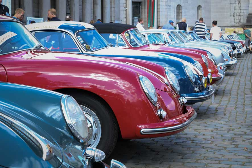 Cars and Coffee at the Autoworld Museum in Brussels