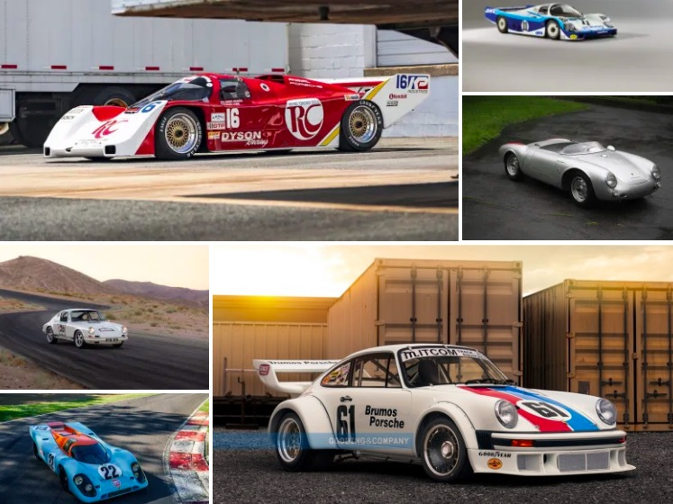 Some amazing Porsches cross the block at the auctions during Monterey Car Week.