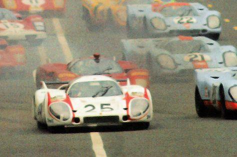 Start Le Mans 1970 - Vic Elford